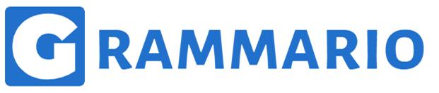 Grammario deutsch Grammatik lernen online Logo