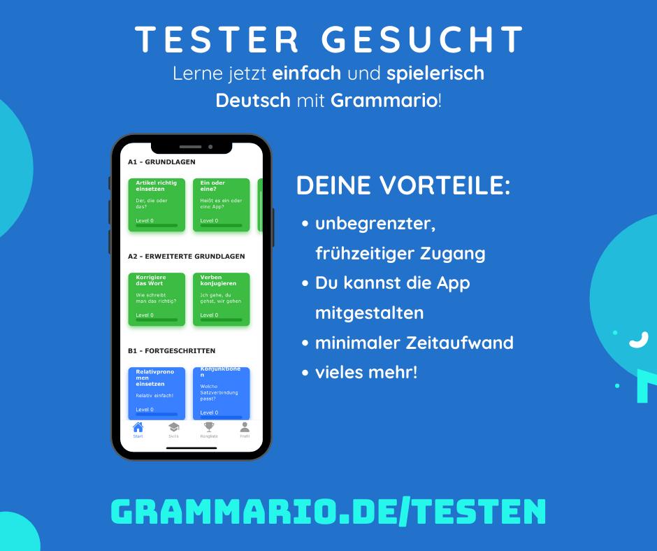 Deutsch test zeitformen kostenlos Die 6